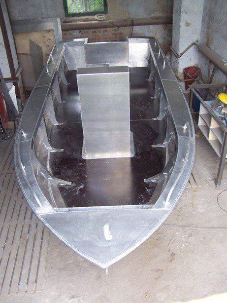 Своими руками лодка алюминевая